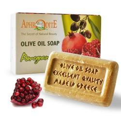 Натуральное оливковое мыло AphrOditE ТМ с экстрактом граната, 100 г