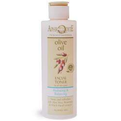 Натуральный тоник для лица Афродита без спирта оливковое масло