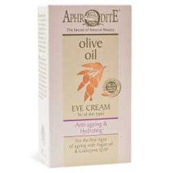 Антивозрастной и увлажняющий крем для кожи под глазами Aphrodite®, натуральный, 30 мл - Фото№ 6