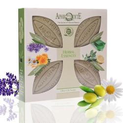 """""""Растительные эссенции"""" - подароочный набор 4 мыла AphrOditE®"""