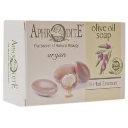 Натуральное оливковое мыло Афродита с арганом