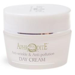Натуральный  дневной защитный крем для лица Афродита с ослинным молоком