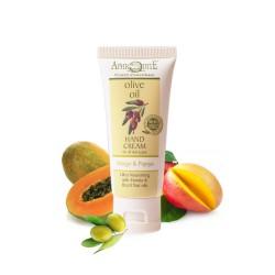 Натуральный крем для рук с экстрактами манго и папайя  AphrOditE®, 30 мл
