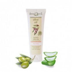 Натуральний оливковий крем для рук Афродіта з алое вера