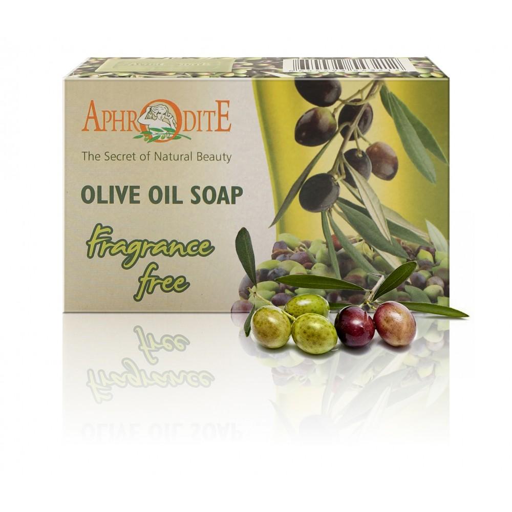 Оливкове мило AphrOditE®, натуральне, 100 г - Фото№ 1