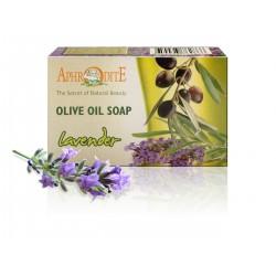 Натуральне оливкове мило Афродіта з лавандою