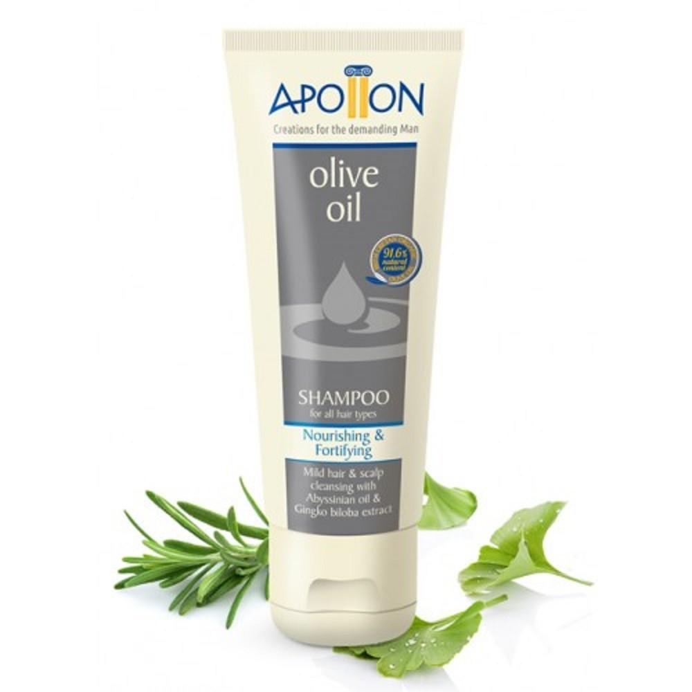 Шампунь для всіх типів волосся Apollon від Aphrodite®, натуральний, 200 мл - Фото№ 1