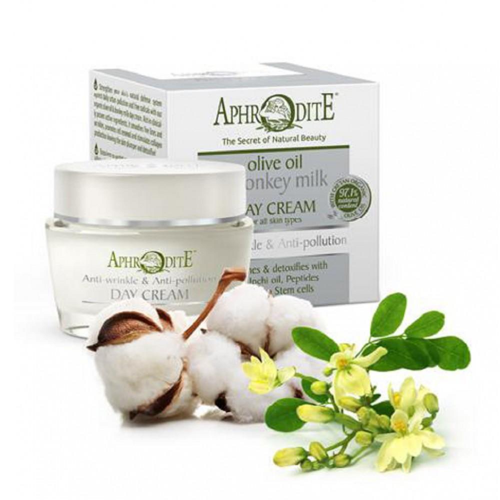 Антивозрастной и защитный дневной крем Aphrodite®, натуральный, 50 мл - Фото№ 1