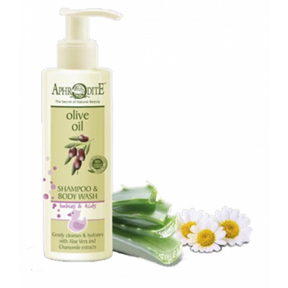 Дитячий шампунь / гель для тіла Aphrodite®, натуральний,  200 мл - Фото№ 1