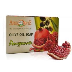 Оливковое мыло с экстрактом граната Aphrodite®, натуральное, 100 г - Фото№ 2
