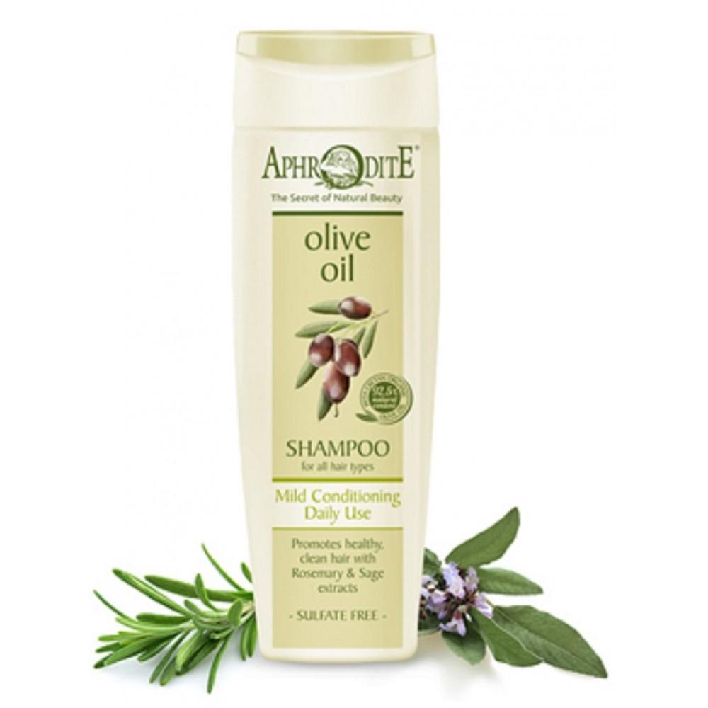 Делікатний шампунь для щоденного використання Aphrodite®, натуральний - Фото№ 1