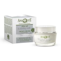 Антивозрастной защитный ночной крем Aphrodite®, натуральный, 50 мл - Фото№ 4