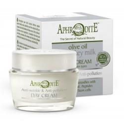 Антивозрастной и защитный дневной крем Aphrodite®, натуральный, 50 мл - Фото№ 4