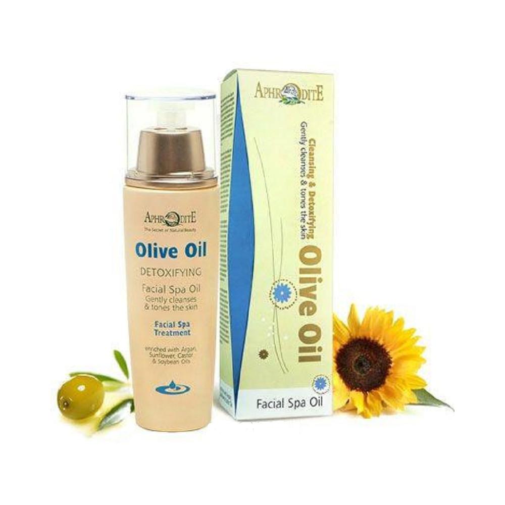 Оливковое масло - Детокс очищение для лица Aphrodite®, натуральное, 100 мл - Фото№ 1