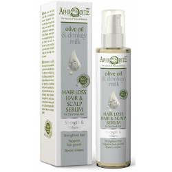 Сироватка для волосся та шкіри голови зміцнююча та живильна AphrOditE®, натуральна, 100 мл - Фото№ 4