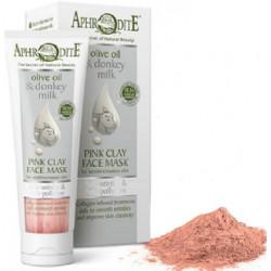 Маска для обличчя з рожевою омолоджуюча і очищаюча глиною AphrOditE®, натуральна, 75 мл. - Фото№ 2
