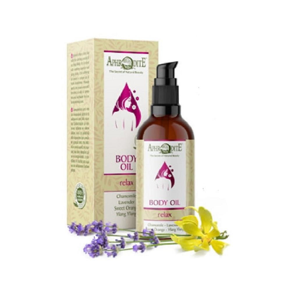 Увлажняющее оливковое масло Релакс Aphrodite®, натуральное, 100 мл - Фото№ 1