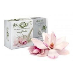 Оливковое мыло с Магнолией и молоком ослиц Aphrodite®, натуральное, 85 г. - Фото№ 4