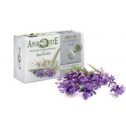 Оливковое мыло с Лавандой и молоком ослиц Aphrodite®, натуральное, 85 г. - Фото№ 4