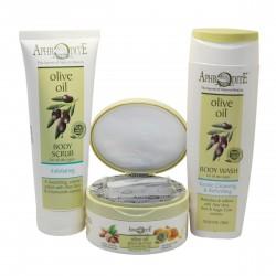 Крем-масло для тела с миндалем и медом Aphrodite®, натуральное, 200 мл - Фото№ 12