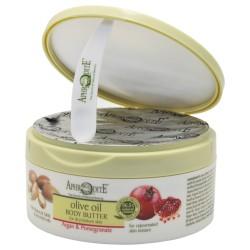 Крем-масло для тела с маслом Арганы и экстрактом Граната Aphrodite®, натуральное, 200 мл - Фото№ 8