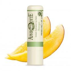 Оливковий бальзам для губ зі смаком манго Aphrodite®, натуральний, 4 г - Фото№ 2