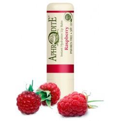 Оливковый бальзам для губ со вкусом малины Aphrodite®, натуральный, 4 г - Фото№ 2