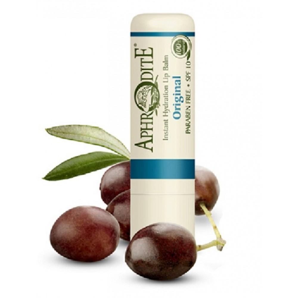 Оливковый бальзам для губ Aphrodite®, натуральный, 4 г - Фото№ 1