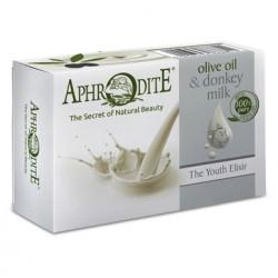Оливкове мило з ослиним молоком Aphrodite®, натуральне, 100 гр - Фото№ 6