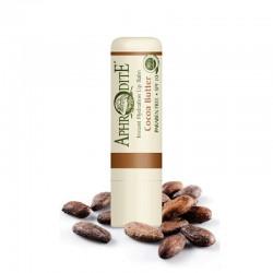 Оливковый бальзам для губ со вкусом какао Aphrodite®, натуральный,  4 г - Фото№ 2