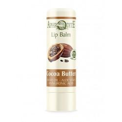 Оливковый бальзам для губ со вкусом какао Aphrodite®, натуральный,  4 г - Фото№ 4