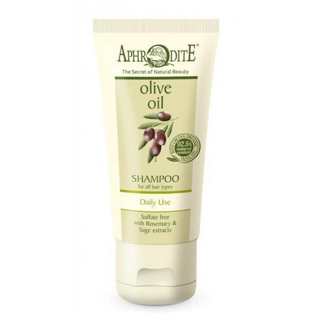 Делікатний шампунь для щоденного використання Aphrodite®, натуральний, 35 мл - Фото№ 1